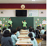 与野本町幼稚園様ワークショップ